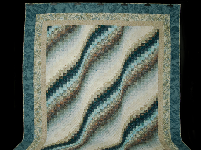 Bargello Wave - Queen size Photo 2