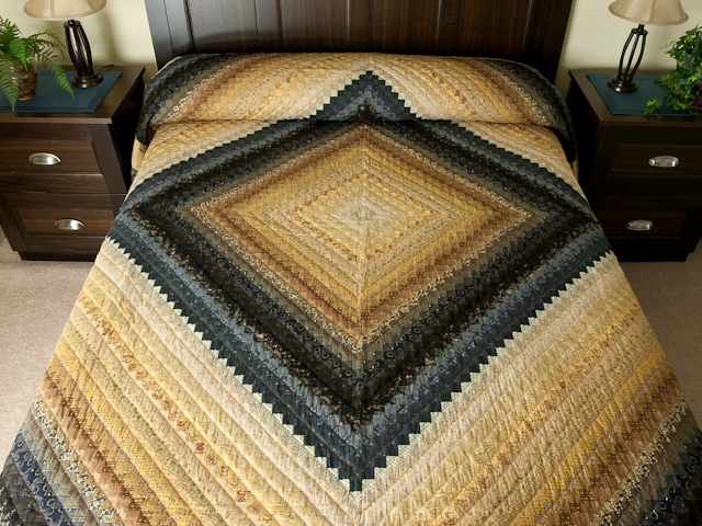 Postage Stamp Queen Bed Size Quilt