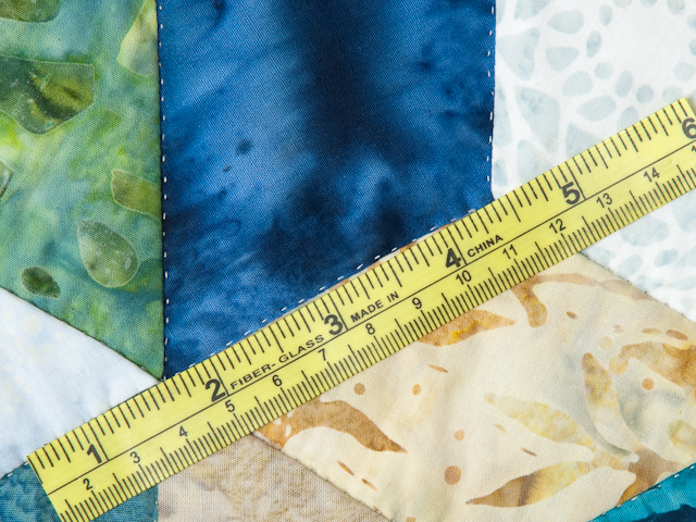Tumbling Blocks - Queen size