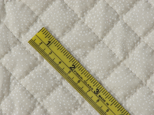Artichoke green and Ivory  Nine Patch KING Quilt Photo 8