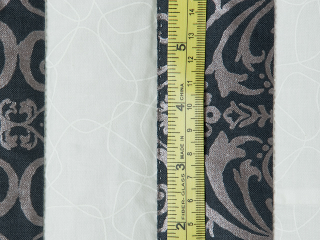 Mesmerize - Modern Grays and Taupes Queen size bed quilt Photo 8