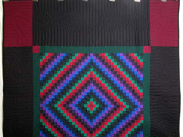 Amish Sunshine and Shadow Quilt Photo 2