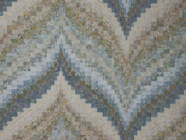 Bargello Flame Batik soft and gentle 