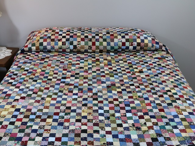 Multicolor Hit or Miss Quilt Photo 1