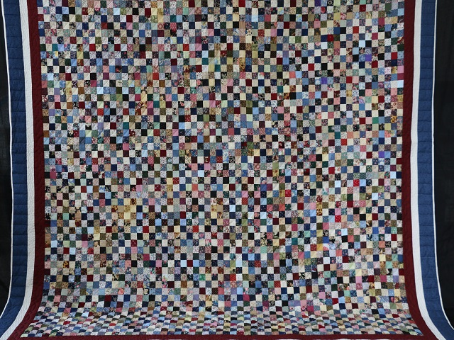 Multicolor Hit or Miss Quilt Photo 2