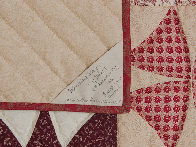 10% Christmas Refund Check - Winding Ways - Queen Size