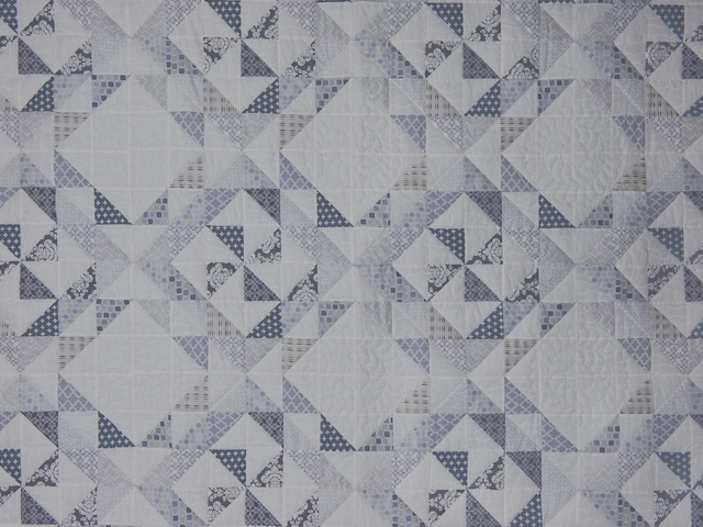 Pinwheel Twist with Pillow Shams Queen Size quilt and pillow shams Photo 3