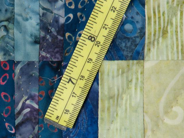 Bargello Flame Batik style fabrics  King size bed Photo 8