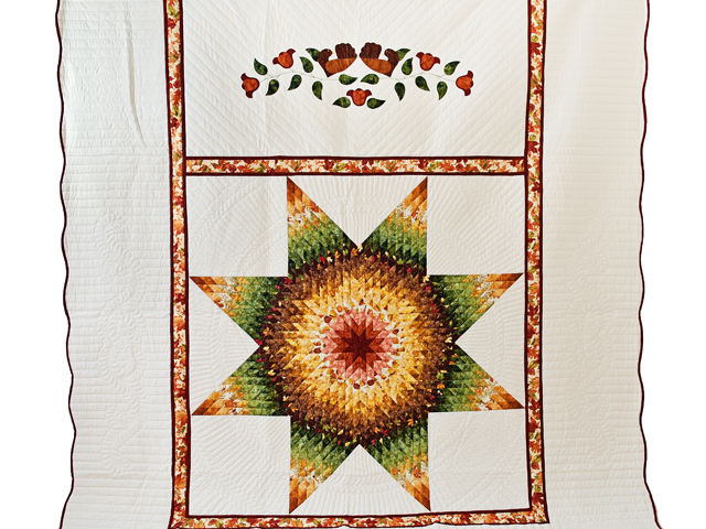 Autumn Lone Star Quilt Photo 2