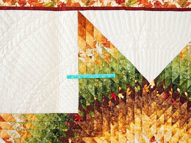 Autumn Lone Star Quilt Photo 4