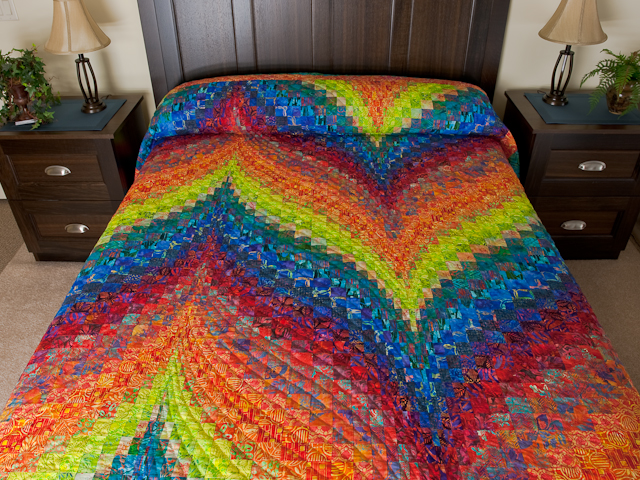 Bargello Flame - Brilliant and Alive