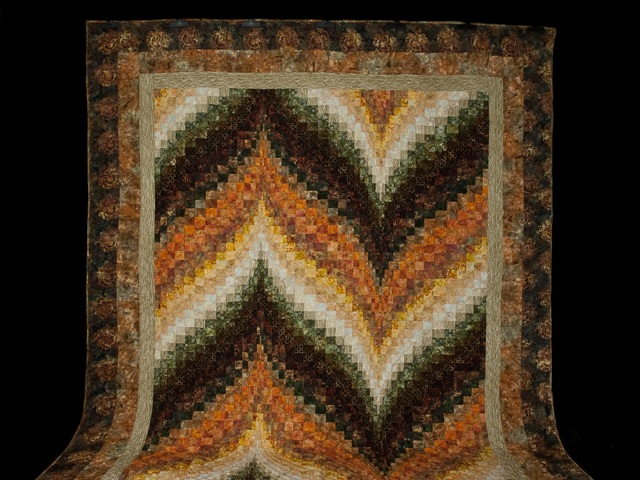 Bargello Flame - Walking at Sunset