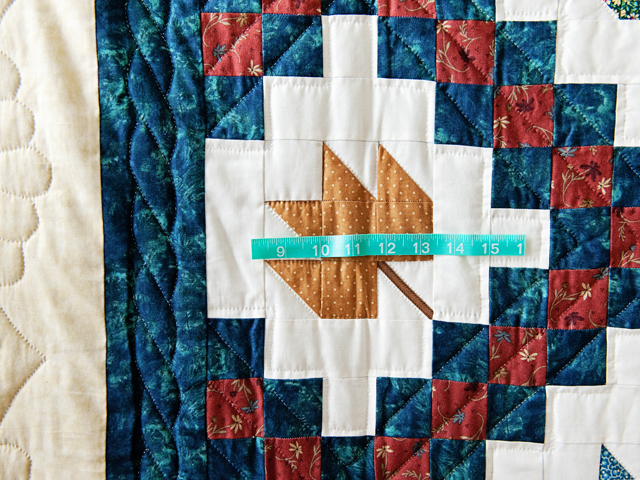 Multi Colored Autumn Splendor Quilt Photo 4