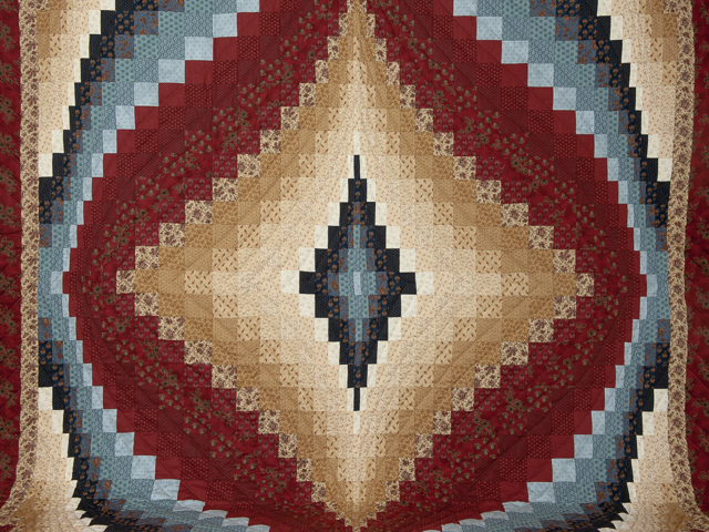 Diamond Bargello Quilt