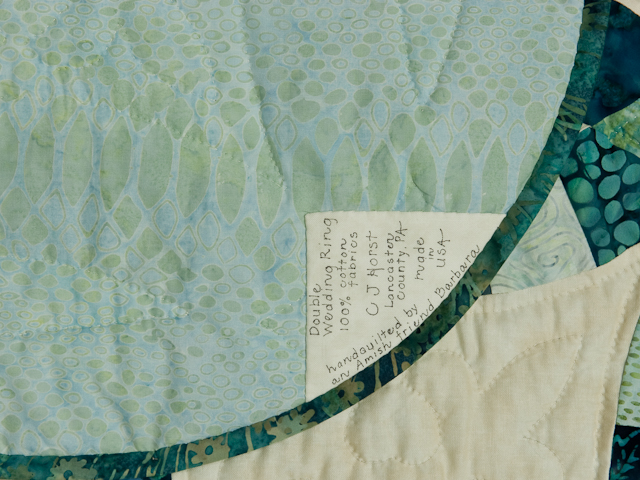 King Size - Double Wedding Ring 