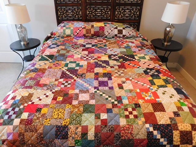 Trail Mix Patchwork Quilt Photo 1