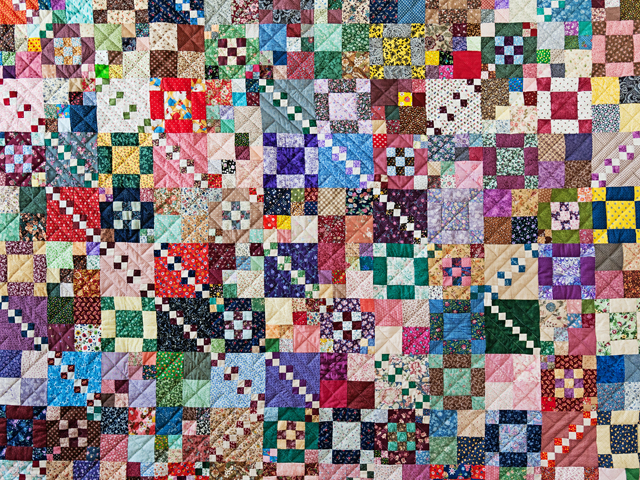 Trail Mix Patchwork Quilt Photo 3