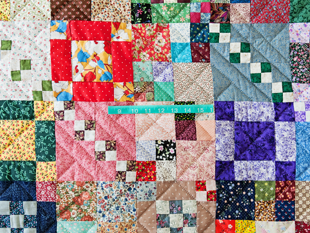 Trail Mix Patchwork Quilt Photo 5