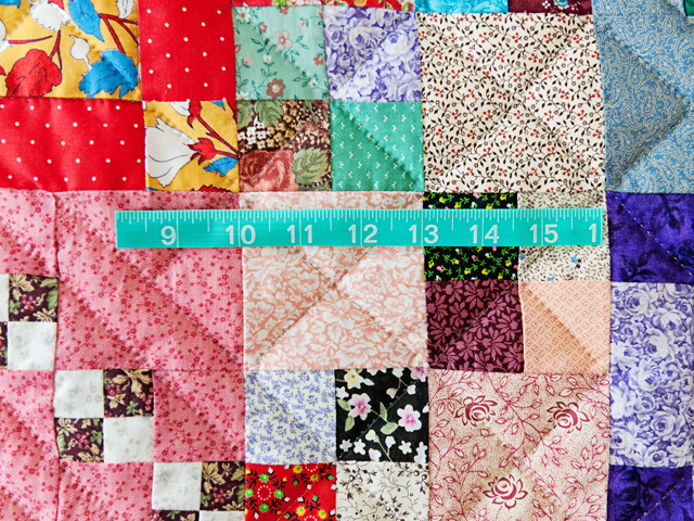 Trail Mix Patchwork Quilt Photo 6