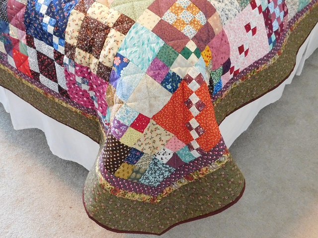 Trail Mix Patchwork Quilt Photo 7