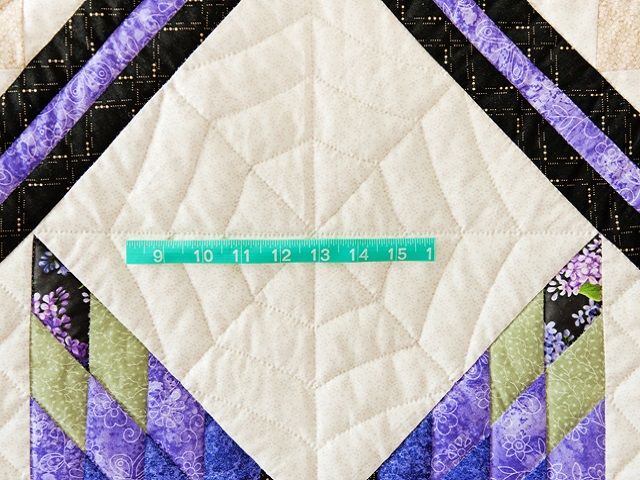 Purple and Green Lone Star Trip Quilt Photo 6