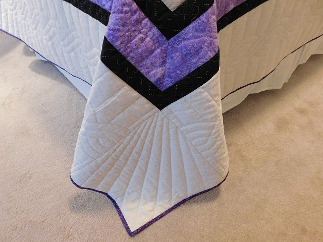 Purple and Green Lone Star Trip Quilt Photo 7