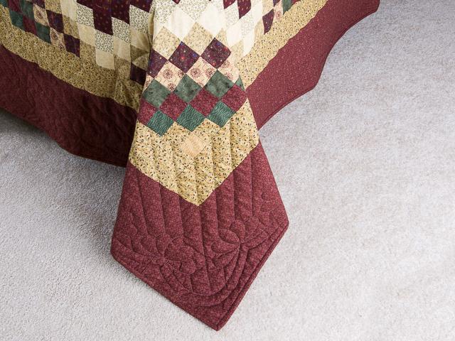King Mosaic Quilt Photo 7