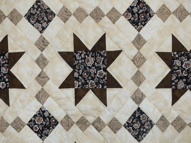 Brown Golden Cross Country Quilt Photo 5