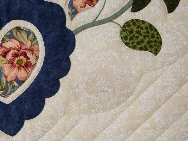 Soft Blue and Cinnamon and Green 