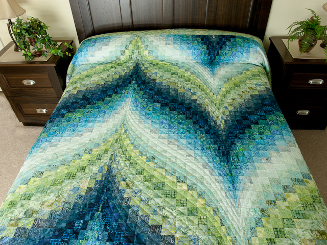 photo of Bargello Flame - Beautiful Land and Sea Batiks!!