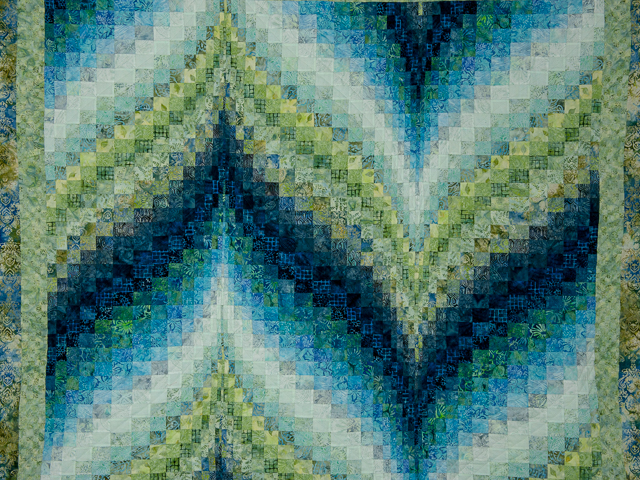 Bargello Flame - Beautiful Land and Sea Batiks!!
