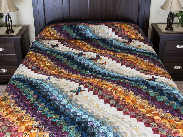 The Journey - King size   Applique/Piecing/Hand Quilting combination! Photo 1
