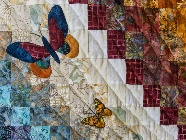 The Journey - King size   Applique/Piecing/Hand Quilting combination! Photo 4
