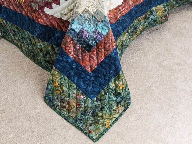 The Journey - King size   Applique/Piecing/Hand Quilting combination! Photo 7