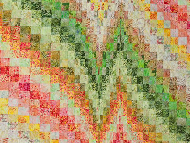 Bargello Heartbeat - King size Photo 4