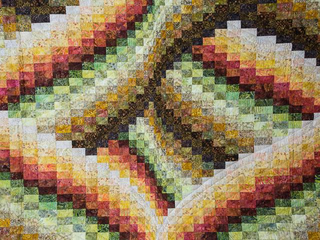 Twisted Bargello -  Autumn colors