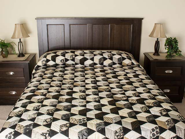 Tumbling Block Stars