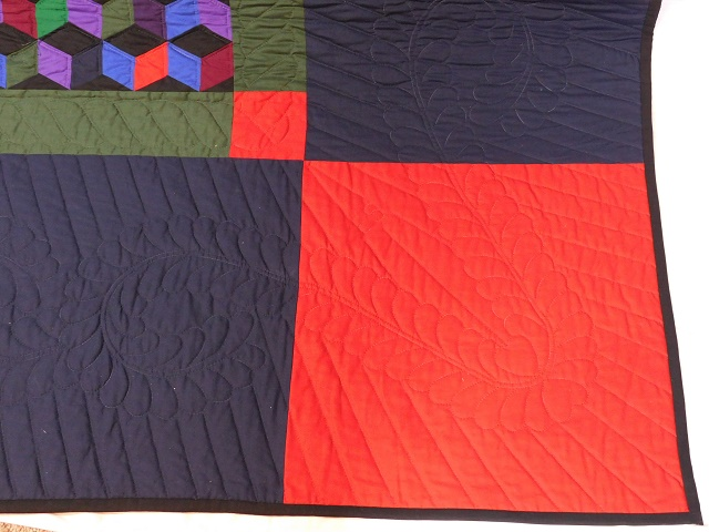Amish Tumbling Blocks Quilt Photo 4