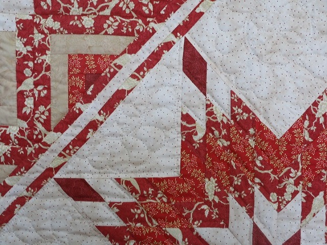 Lone Star Log Cabin Quilt Photo 5