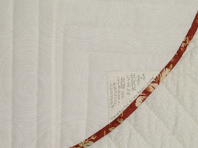 Lancaster Treasure - Queen  paprika, ivory Photo 6