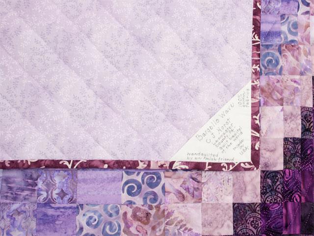King Bargello Wave in Batiks Shades of purple Photo 6