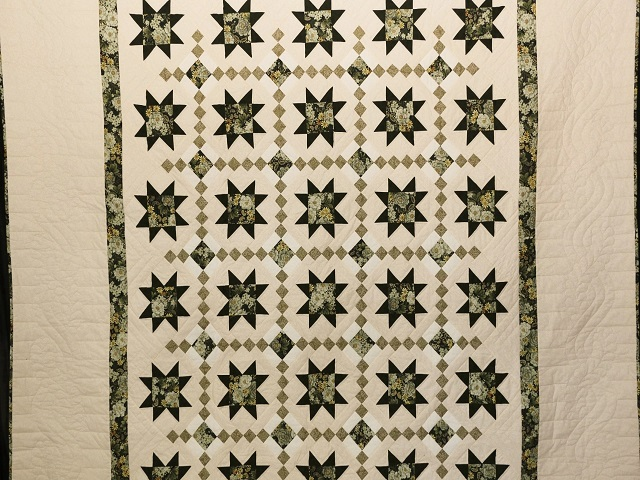 Green Cross Country Quilt Photo 2