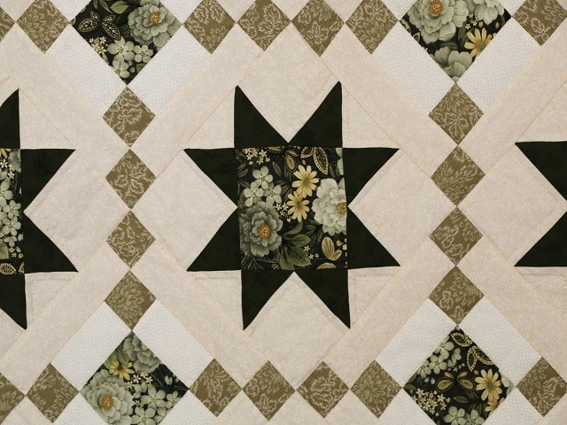 Green Cross Country Quilt Photo 5
