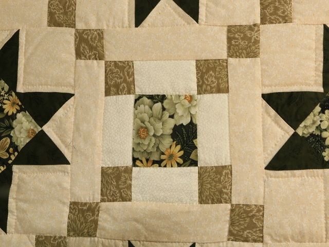 Green Cross Country Quilt Photo 7