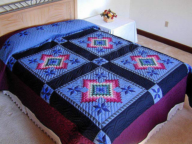 King Amish Colors Grannys Favorite Quilt Photo 1