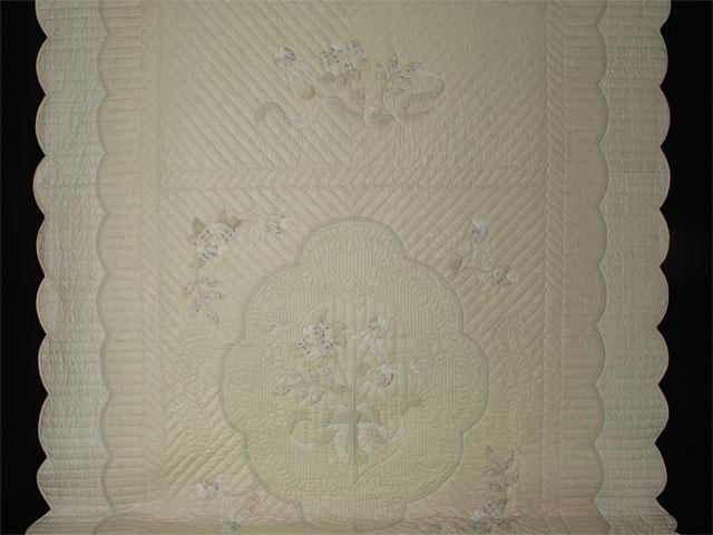 Lancaster Treasure - Queen  Chevron border/neutrals/tans/grays/ ivory Photo 2