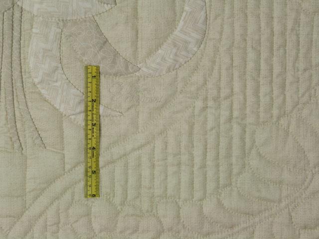 Lancaster Treasure - Queen  Chevron border/neutrals/tans/grays/ ivory Photo 8