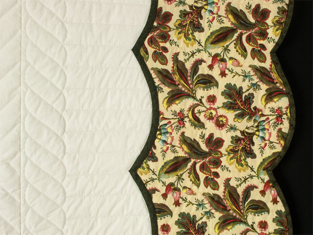 Lancaster Treasure in ivory - Queen