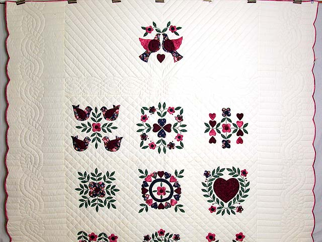 Baltimore Album Sampler Applique Quilt Photo 2