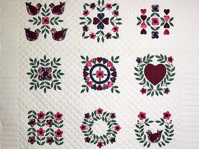 Baltimore Album Sampler Applique Quilt Photo 3
